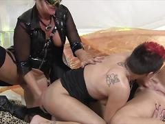 German lesbian orgy
