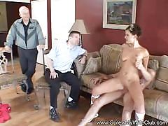 Housewife first time swinger