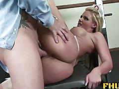 phoenix marie, big dick, blowjob, hardcore, big tits, doggystyle, cumshot, ass, anal, blonde, shaved, doctor, nurse, big butt, reality