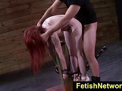 Fetishnetwork sheena rose hot bondage slut
