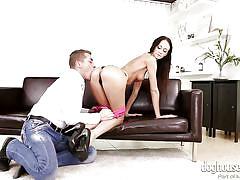 Cock crazy eveline caresses her lover @ creampie cuties #03