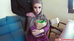 Ex arab girlfriend doggy style couch stiff shaft