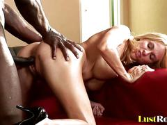 blonde, interracial, pornstars, blowjob, shaved, pornstar