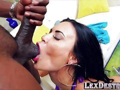 Big titty and sexy jasmine jae gets fucked by lexington steele