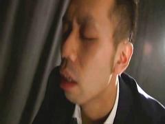 Japan office man sex