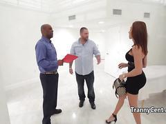 Black guy fucking dudes tranny wife