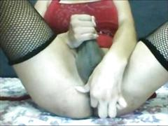 Mature ts knows hot to make herself happy