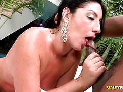 Clit slit pussy slamming brazilian hottie renato nunes