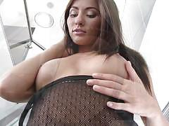Sexy stair masturbation from gorgeous michaela isizzu