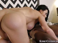 big cock, femdom, interracial, cumshot, hardcore, facial, masturbation