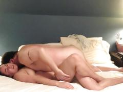 Passionate love making with beautiful, sexy wife...