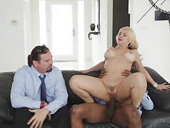 Cock craving wife sarah vandella gets a stuffing