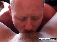 White guys sucking sweet black girls