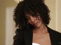 Ebony ana foxxx helps her step-mother misty stone