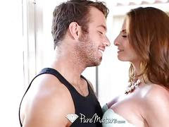 Milf silvia sage has the poolboy fuck her in the ass - puremature