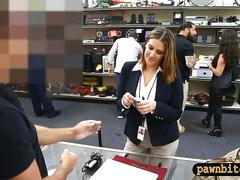 Milf selling her wrist watch and screwed by pawn guy