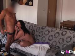 Big titted giny fucks english masseur