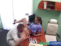 Nurse fucked by horny doctor