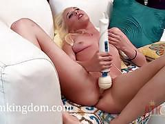 roxy nicole, blonde, teen, masturbation, solo, amateur