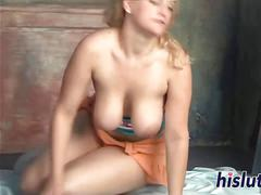 Cute blonde has her wet cunt drilled