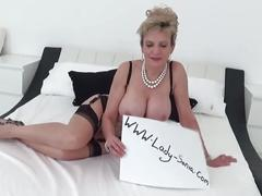 Lady sonia gives black guy a handjob on massage table