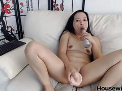 Little asian mammy with a tight,teasty pussy