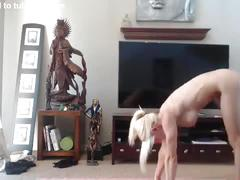 Haley ryder nude yoga