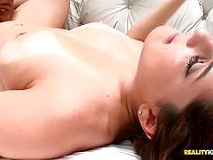 Horny brazilian pussy drilling agatha