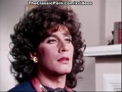 Erica boyer, john leslie, rachel ashley in vintage porn movie