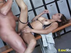 Delicious creampie for a tight babe nataly rosa