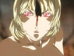 Naked anime girls fucking in a sex ritual