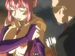 Naked anime girls fucking in a sex ritual