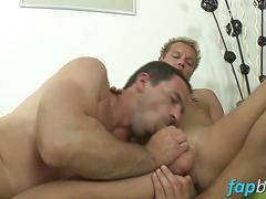 Hot stud lucky smile enjoys shoving his dick in andys ass