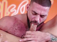 Hot stud diego sans slams rickys ass with his rock hard dick