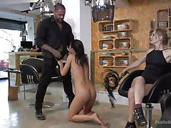 bdsm, babe, public nudity, mistress, outdoor, whipping, sex slave, public disgrace, cock sucking, public disgrace, kink, mona wales, rob diesel, carolina abril