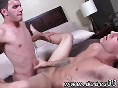 Tattooed twink gets his ass fucked with a long hard cock