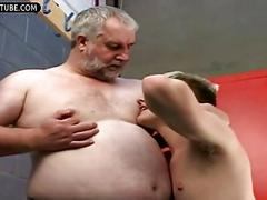 hunk, old and young, twink, gay, masturbation