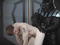 Vader shows hans solos ass the dark side of the force