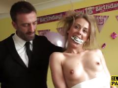 blonde, milf, small tits, rough sex, pascalssubsluts, young, roughsex, bdsm, british, cumswallow, reality, maledom, petite, tattoo, piercings, deep-throat, spanking, small-tits