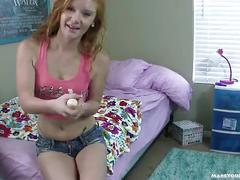 Teen redhead alex tanner jerk off instructions