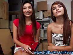 Amateur sluts in backroom
