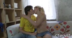 amateur, hardcore, russian, teen, blonde, blowjob, licking, small tits