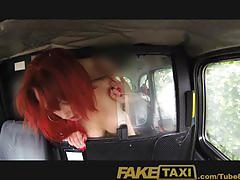 Faketaxi petite young red head will do anything for cash