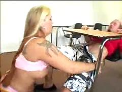 Student dreams of fucking his hot busty teacher