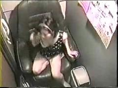 Hidden cam japanese video booth masturbation