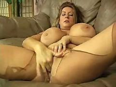 busty, masturbation, matures