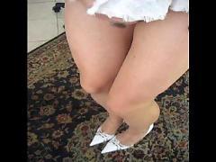 Sexy matilde masturbation in pantyhose matignon