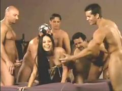 6 guys and one girl, what will go down - pornhub.com
