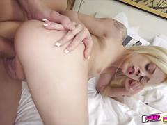 Elsa dream and liza rowe swap dads and get fuck