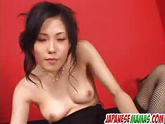 Asian babe yui komine provides amazing solo